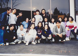 ▲大学時代テニスサークルの写真