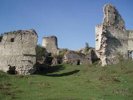 Північна вежа та залишки палацу