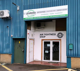 prodomo Ireland - Air Tightness Shop
