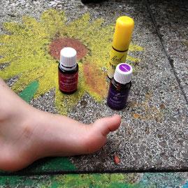Purification und Lavendel entspannen und beruhigen