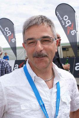 Walter Gärtner unser umsichtige Präsident