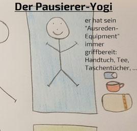 Pausierer-Yogi