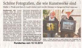 Rundschau 10.10.2013