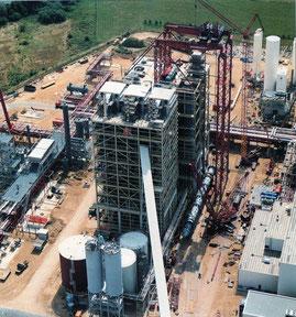 Bouw van grootste kolenvergasser te wereld