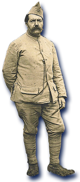orthe , bélus , landes , durosoir , violon , maréchal , caplet , neuville st vaast , guerre , colombophile ,  1914 , douaumont ,  quintette du général