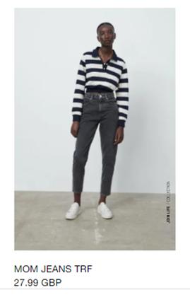 Grey jeans Zara