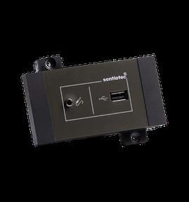 Sentiotec sound&light+ USB Dock Saunatechnik Saunazubehör