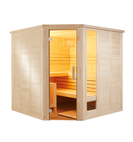 Sentiotec Sauna Komfort Corner Saunatechnik Saunazubehör