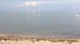 Meer baden Strand Adria Italien