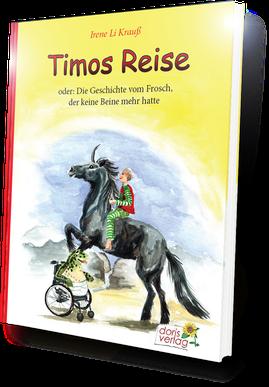 Timos Reise Junge Einhorn Frosch Rollstuhl