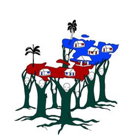 "Logo de MOSOSAH - ""Sauvés pour servir"""