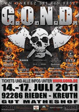 G.O.N.D. 2011