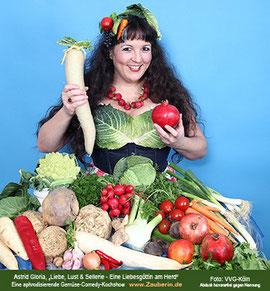 Astrid Gloria, Rettich, Granatapfel