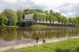 Vilnius. Neries pakrantė / Vilnius. Neris riverside (photo Gintaras Burba)