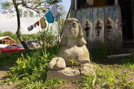 Vilnius. Užupio Sfinksas / Užupis Sphinx (photo Gintaras Burba)