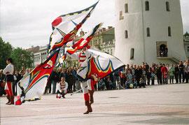Vienoje iš Vilniaus m. švenčių / During the Vilnius city celebration (photo Gintaras Burba)