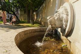 Fontanas Stanislavo Moniuškos skvere (Vilniaus g-vė). 2011m. Nuotr. Gintaro Burbos / The fountain in Stanislovas Moniuška square (Vilnius street). 2011. Photo by Gintaras Burba