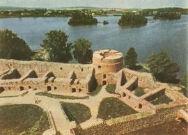Trakai. Iš donžono pažvelgus. Nuotr. P. Karpavičiaus / A view from the donjon. Photo P. Karpavičius
