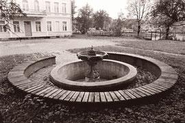 Vilnius. Fontanas Antakalnio g-vėje 2. 1988m. Nuotr. Gintaro Burbos / Fountain in Antakalnis st. 2 Vilnius 1988. Photo by G.Burba