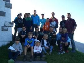 BMX-Familie auf Gapfohl