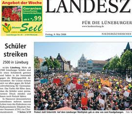 Schülerstreik in Lüneburg