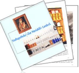 """Die Geschichte der Stadtapotheke """"Zur Mariahilf""""  als PDF (13MB) zum Download"""