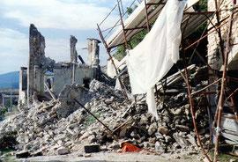 Emergenza sisma Umbria,settembre - ottobre 1997