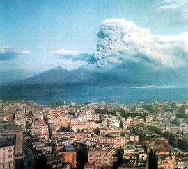 Eruzione del Vesuvio,18 marzo 1944.