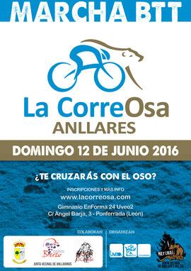 MARCHA BTT LA CORREOSA Anllares del Sil, 12-05-2016