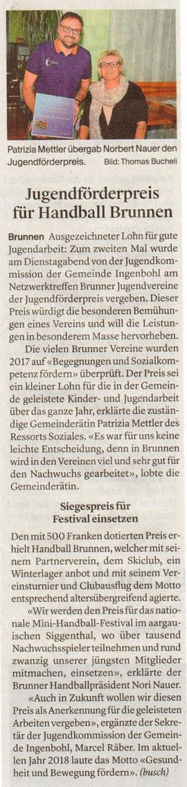 Bote der Urschweiz, 26.04.2018