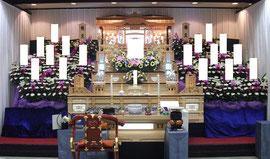 朝霞市市民葬儀 5段祭壇