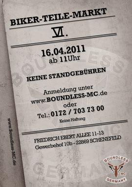 Flyer und Plakat aus 2011
