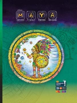 大人のための英語のAR塗り絵本「マヤ文明」