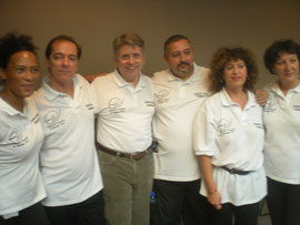 L'équipe fedefma au complet avec David Palmer