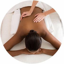 Massage bien-être à l'huile sur table relaxant ou décontractant. Pour un moment de détente unique.