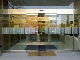 puerta corredera cristal vidrio limpio aprimatic alicante