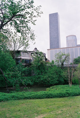 Downtown et le Buffalo bayou