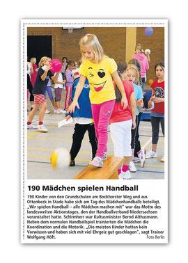 Stader Tageblatt Oktober 2010