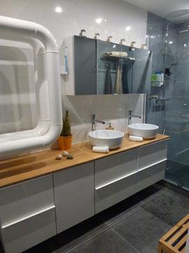Reportage avant après salle de bain, Avant après travaux, Salle de bain avant après, décoration salle de bain, rénovation salle de bain, Décoration d'intérieur Hauts-de-Seine, Projet déco salle de bain