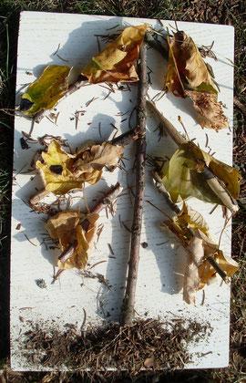 l'arbre aux feuilles en or