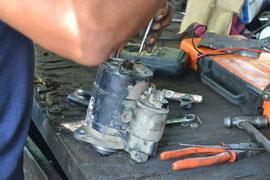 Y encontramos la falla mecánica!