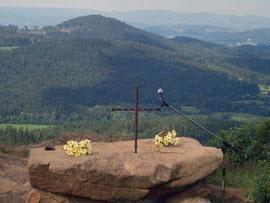 Gottesdienst auf dem Silberberg