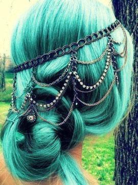Mermaid hairdo