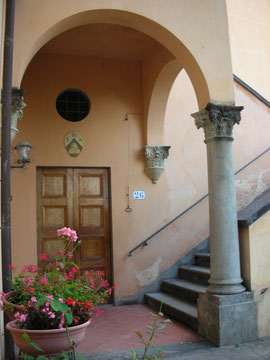 Firenze - Ingresso del monastero