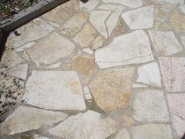 Alba Stone natur Mosaik groß - 3 cm stark per m2 28,--