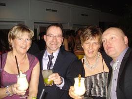 Jörg, Kirsten, Karsten und Ulrike waren auch zum Ball gekommen.