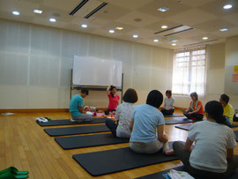 八王子生涯学習センターのご依頼にてチベット体操講師指導