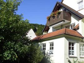 Balkonveranda mit Frauensteinblick