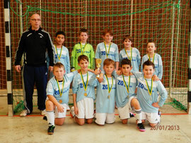 Stadtmeister 2013 die E-Jugend des SV Bexbach