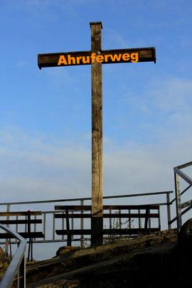 Ahr Ahruferweg Kreuz blauer Himmer iphone